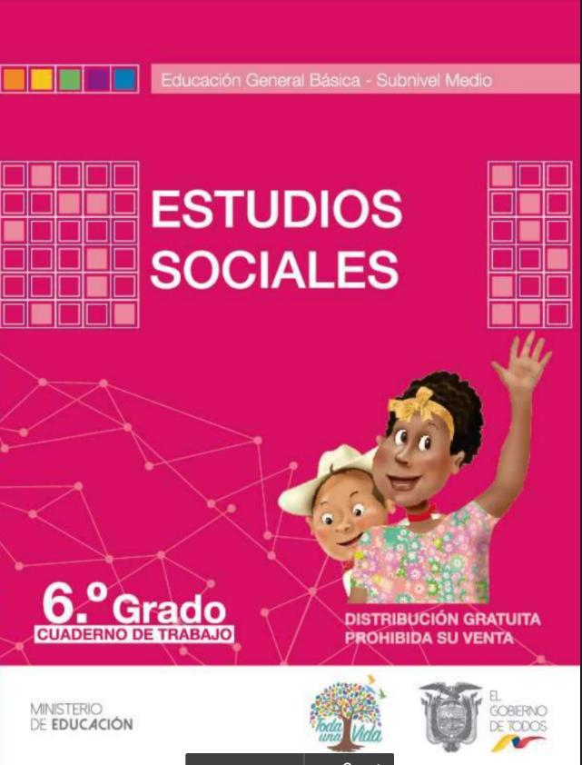 Cuaderno de Trabajo de Estudios 6 Sociales Resuelto Todo