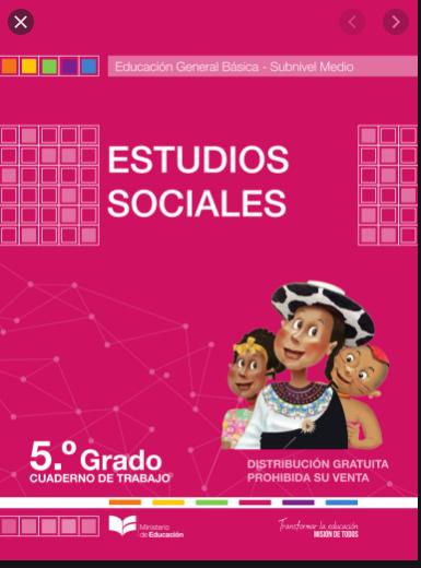 Cuaderno de Trabajo de Estudios Sociales 5 Resuelto