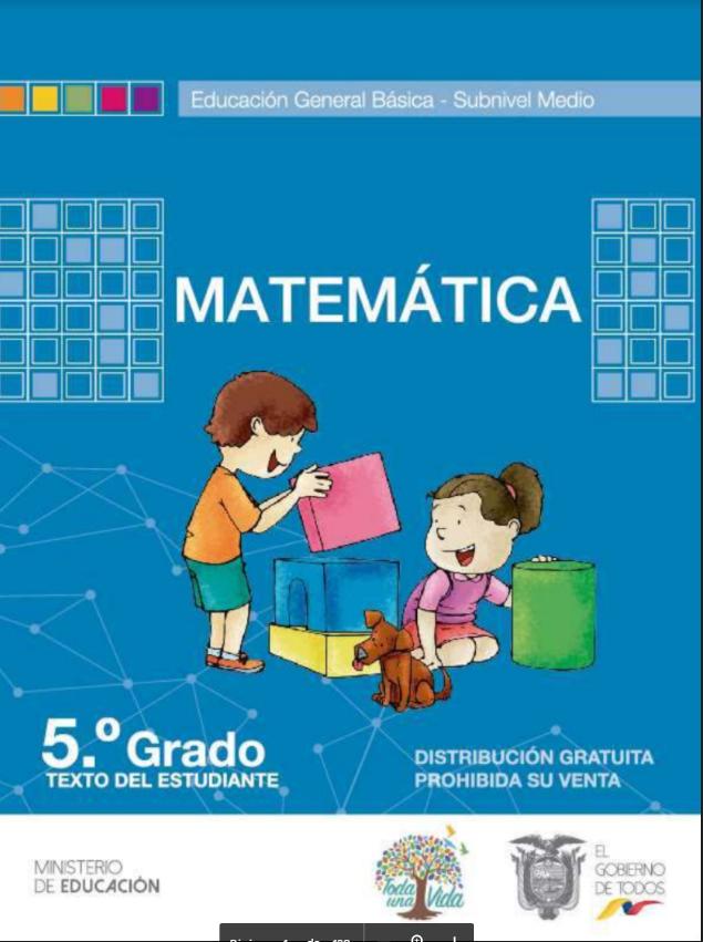 Cuaderno de Trabajo de Matematicas 5 Resuelto Todo