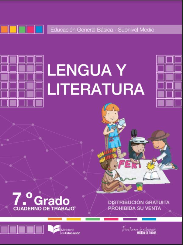 Cuaderno de trabajo de Lengua y Literatura  7 Resuelto Todo LLeno