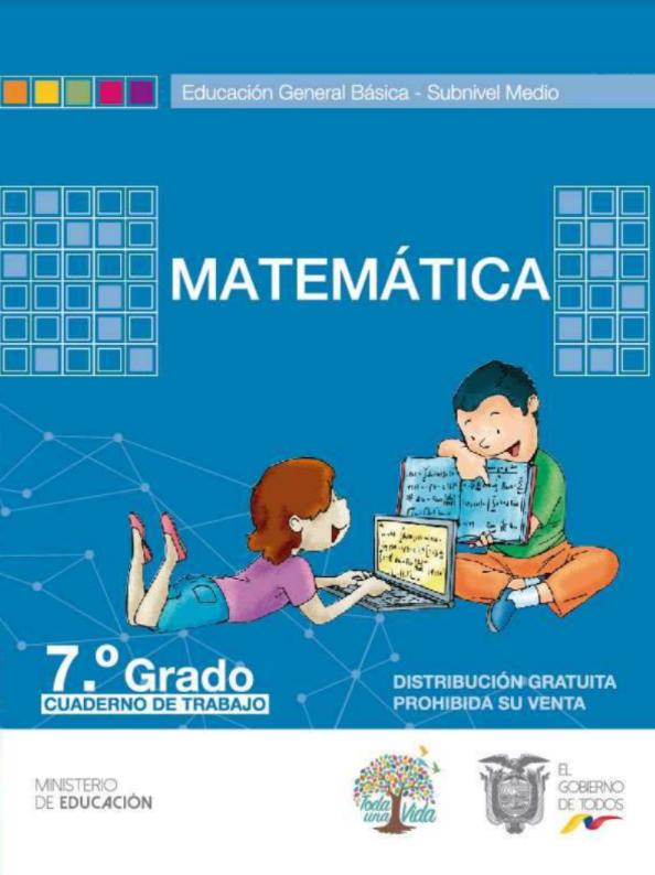 Cuaderno de trabajo de Matematicas 7 Resuelto Todo