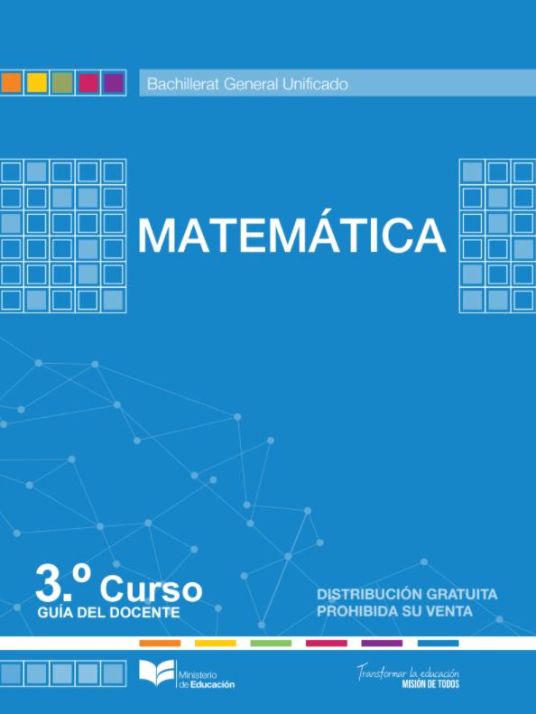 Ejercicios Resueltos del libro de matematicas 3 Bachillerato