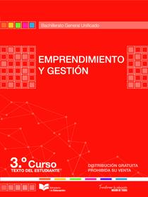 Libro de Emprendimiento y Gestion 3 Bachillerato BGU Resuelto
