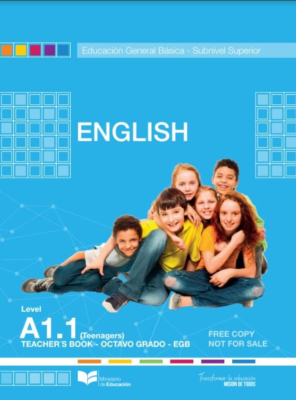 ≫【 Libro Resuelto Ingles de 8 Octavo Año A1.1 Level 】PDF