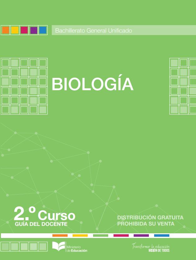 Libro de Biologia 2 Segundo Bachillerato BGU Resuelto