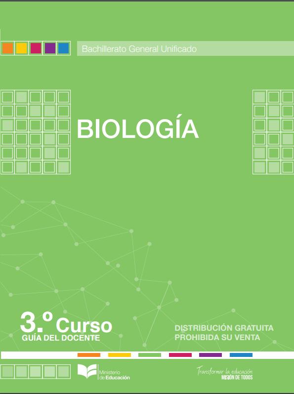 Libro de Biologia 3 Bachillerato Resuelto