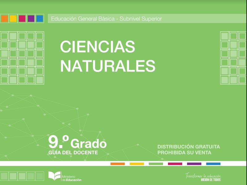 Libro de Ciencias Naturales 9 Resuelto