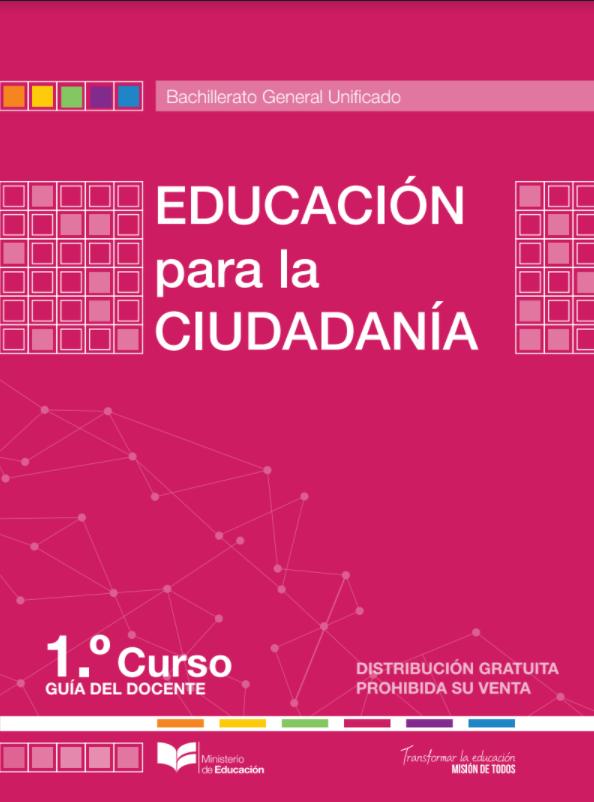 Libro de Educacion para la Ciudadania 1 BGU Resuelto