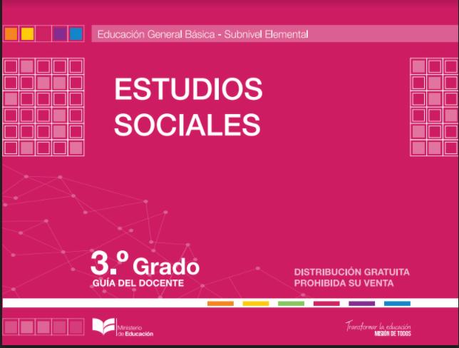 Libro de Estudios Sociales 3 Grado Resuelto