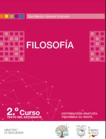 libro de texto de Filosofia 2 Bachillerato BGU Resuelto