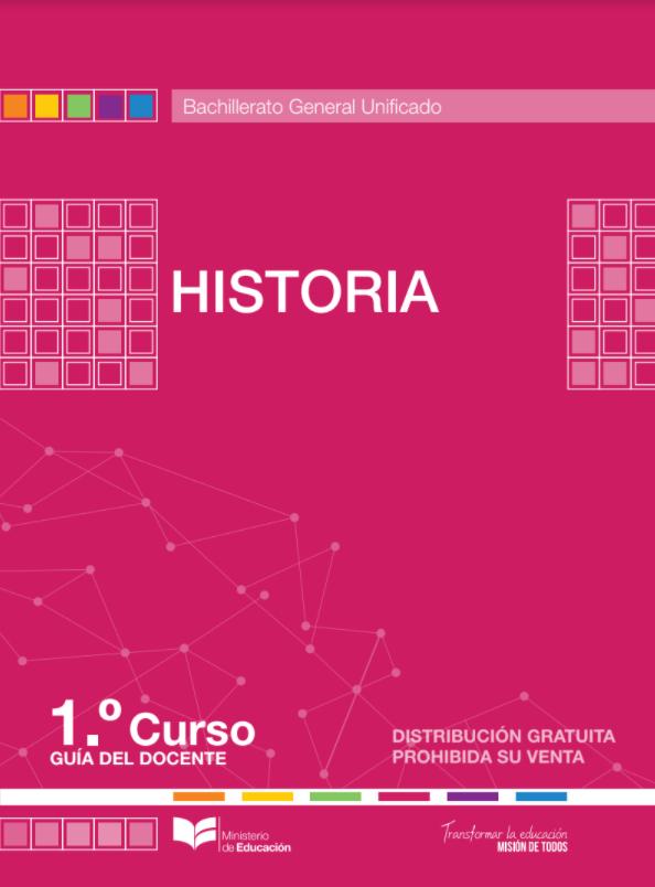 Libro de Historia 1 Primero BGU Bachillerato Resuelto