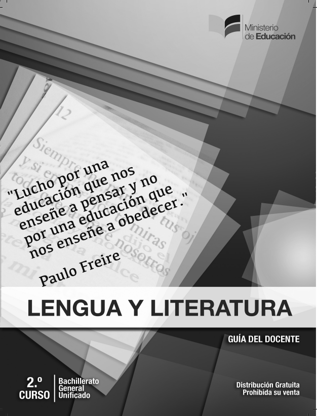 Libro de Lengua y Literatura 2 Bachillerato BGU Resueltos