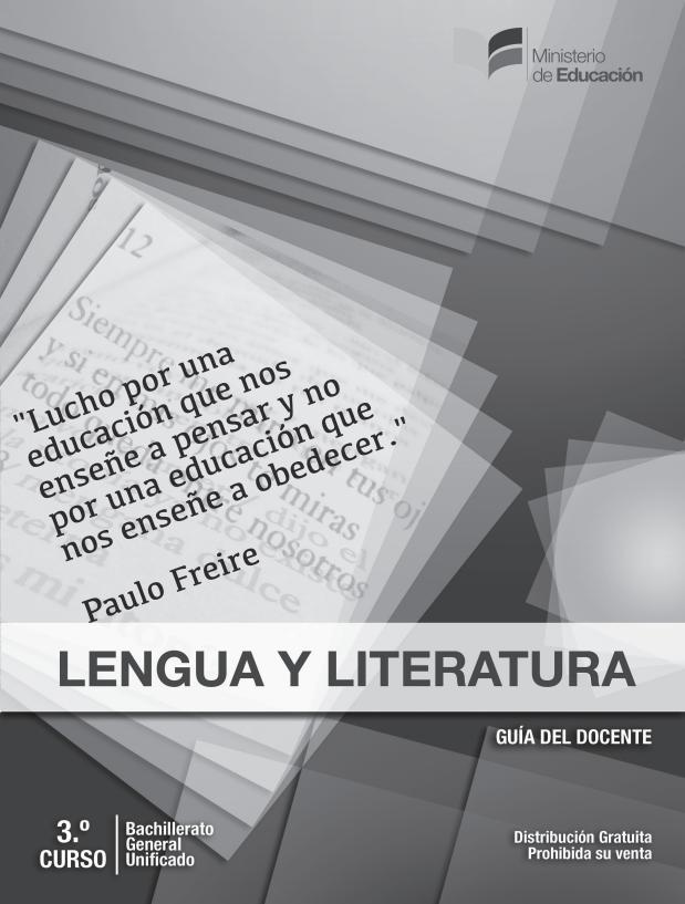Libro de Lengua y Literatura 3 Bachillerato Resuelto
