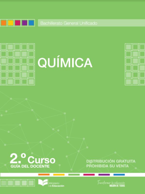 Libro de Quimica 2 Bachillerato BGU Resuelto
