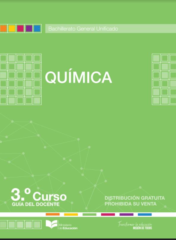Libro de Quimica 3 Tercero BGU Bachillerato Resuelto