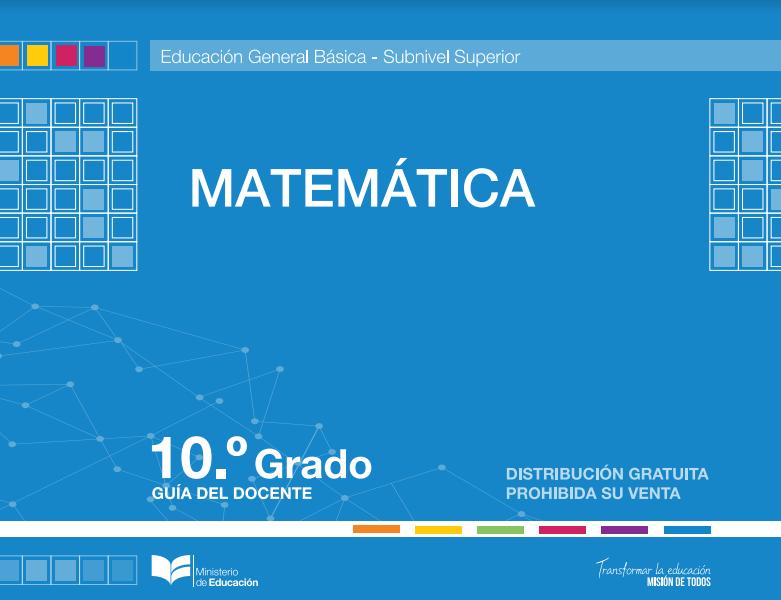 Libro de Matematicas 10 Resuelto