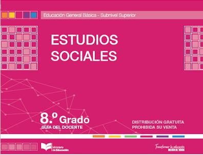 Libro de texto de Estudios Sociales 8 Resuelto