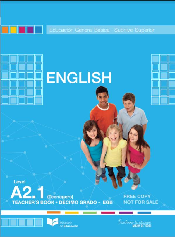 Modulo de Libro Ingles de Decimo 10 Resuelto